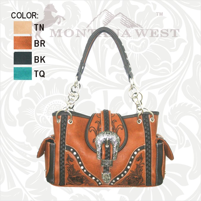 Montana West Buckle Bag